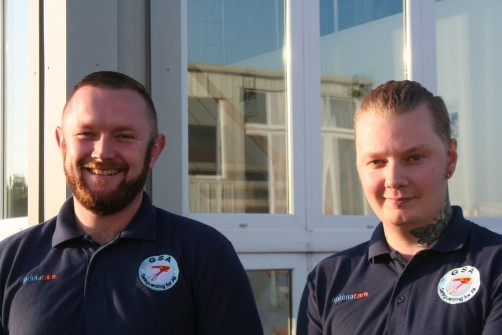 Chris and Jay work with the people we support and are also now accredited TMVA trainers
