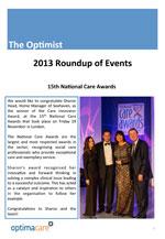 Optimist Newsletter Roundup 2013